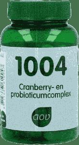 1004 Cranberry en probioticumcomplex - 60 Veg. Capsules
