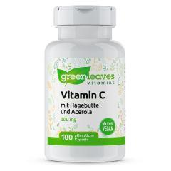 Vitamin C 500 mg - 100 Vegetarische Kapseln