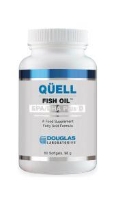Quell Fish Oil EPA/DHA Plus D 60 Softgels