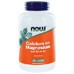 Calcium and Magnesium with D3 and K2 - 180 capsules
