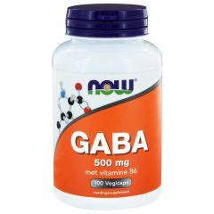 GABA 500 mg - 100 veg. capsules
