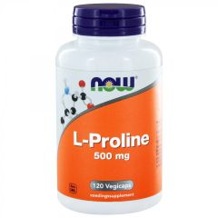L-Proline 500 mg - 120 veg. capsules