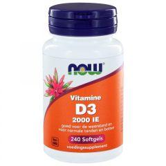 Vitamin D3 2000 IU - 240 softgels