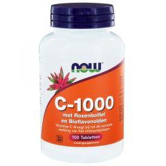 C-1000 met Rozenbottel en Bioflavonoïden - 100 tabletten