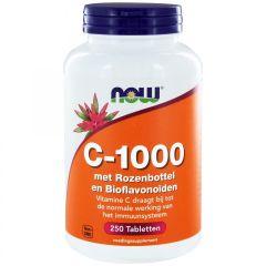 C-1000 met Rozenbottel en Bioflavonoïden - 250 tabletten
