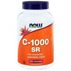 C-1000 Sustained Release met Rozenbottel - 250 tabletten