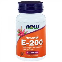 E-200 gemengde tocoferolen - 100 softgels