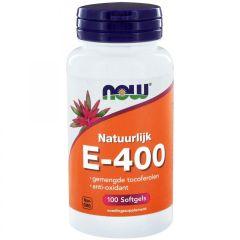 E-400 gemengde tocoferolen- 100 softgels