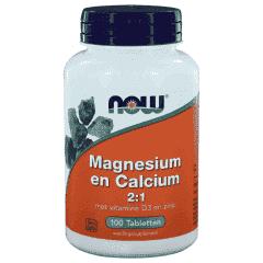 Magnesium en Calcium 2:1 - 100 tablets