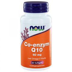 Co-enzym Q10 60 mg met Omega-3 Visolie - 60 Softgels