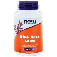 Aloe Vera 50 mg - 100 Softgels