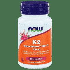 K2 Menaquinone-7 (MK-7) 100 µg - 60 veg. capsules