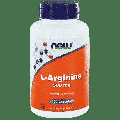 L-Arginine 500 mg - 100 veg. Kapseln