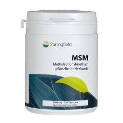 MSM - 120 Veg Tabletten