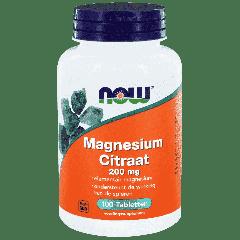 Magnesium Citraat 200 mg - 100 tablets