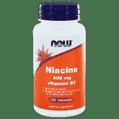Niacine 500 mg vitamine B3 - 100 tablets
