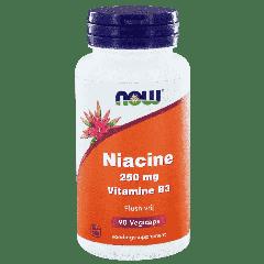 Niacine 250 mg Vitamine B3 Flush vrij - 90 veg. capsules