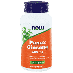 Panax Ginseng 500 mg - 100 veg. Kapseln