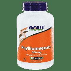 Psylliumvezels 500 mg - 200 veg. capsules