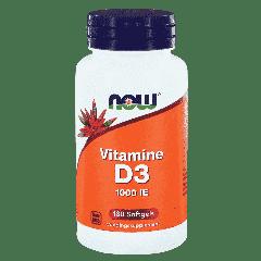 Vitamine D3 1000 IE - 180 softgels