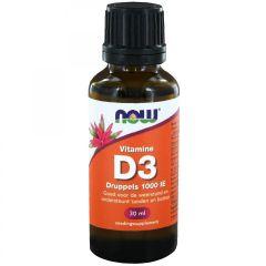 Vitamine D3 druppels 1000 IE - 30