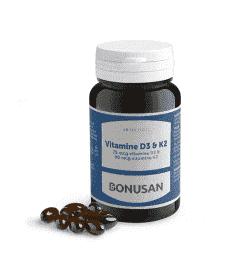 Vitamine D3&K2 - 60 softgels