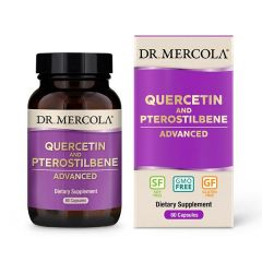 Quercetin and Pterostilbene Advanced - 60 capsules