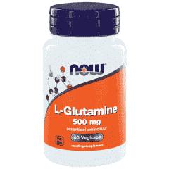 L-Glutamine 500 mg - 60 veg. kapsler