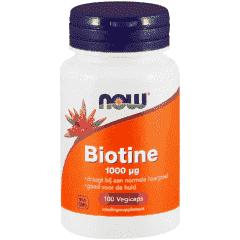 Biotin 1000 mcg - 100 veg. capsules