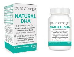 Natural DHA Hooggeconcentreerd - 60 Capsules
