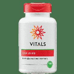 IJzerbisglycinaat 25 mg - 100 Capsules