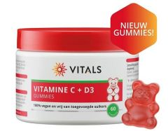 Vitamin C+D3 - 60 Gummies
