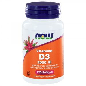 Vitamine D3 2000 IE - 120 softgels