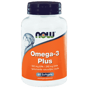 Omega-3 Plus 360 mg EPA 240 mg DHA - 60 Softgels