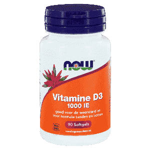 Vitamine D3 1000IE - 90 softgels