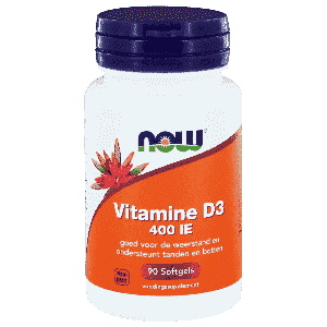 Vitamine D3 400IE - 90 softgels