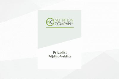 Pricelist April 2019