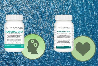 Discover the highly concentrated fishoil from Puro Omega