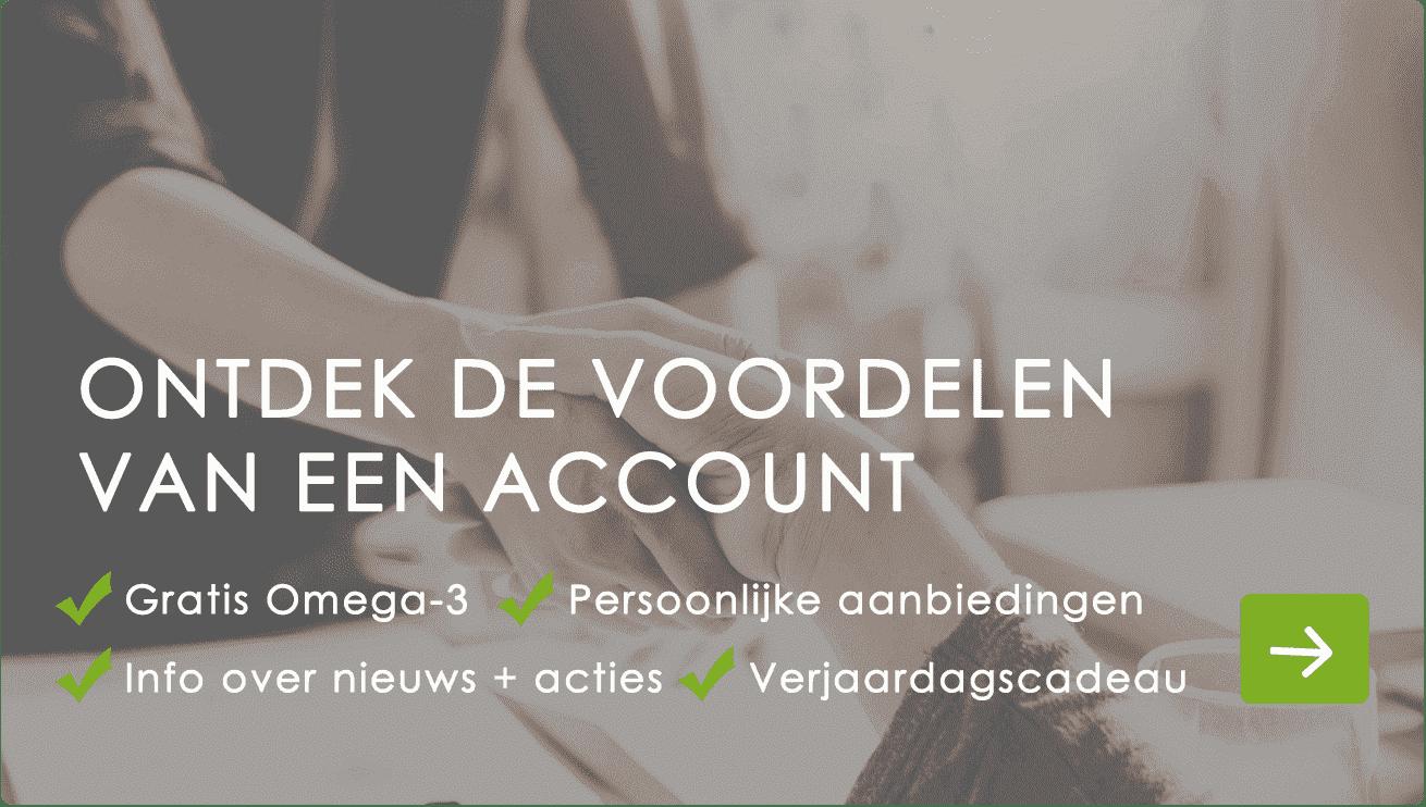 Voordelen account